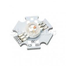 Мощный светодиод ARPL-Star-3W-EPA-RGB (350mA, W/W)