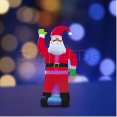 """3D фигура надувная """"Дед Мороз"""", размер 600 см, компрессор 160 Вт с адаптером 12В, IP44 NEON-NIGHT"""