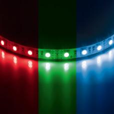 400050 Лента 5050LED 12V 14.4W/m 60LED/m 10-12lm/LED IP20 RGB 200m/box цветная